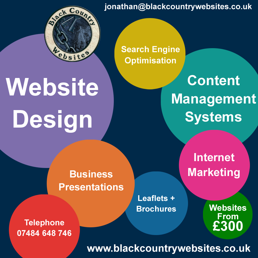 Social Media posts designed by Black Country Websites to promote your business in and around the West Midlands Facebook Post