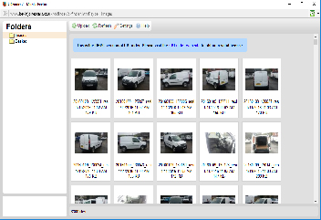 Adding and Choosing Images - Using the Content Management System